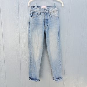 Revice Vintage Inspired Mom High Rise Jeans